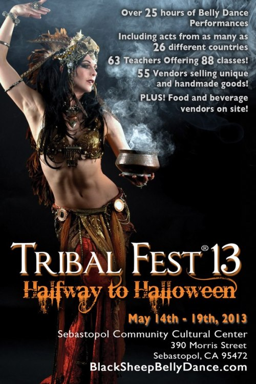 Tribal Fest Flyer